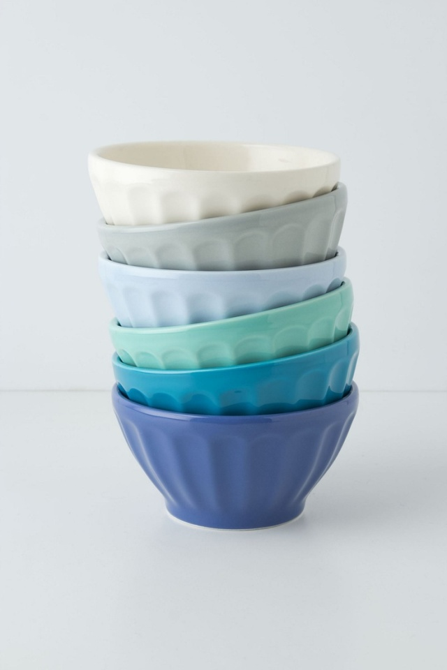 Anthropologie sea-inspired bowls
