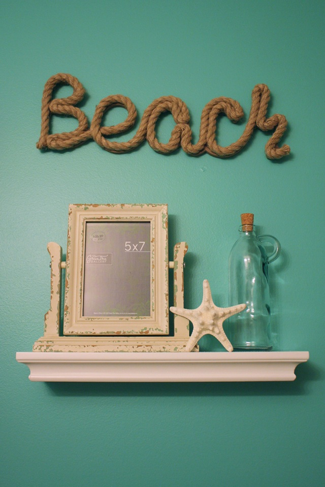 Beach Bathroom Makeover