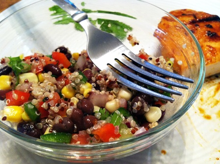 Southwest Quinoa and Black Bean Salad