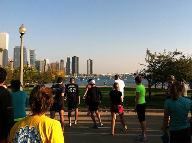 Chicago Lakeshore path