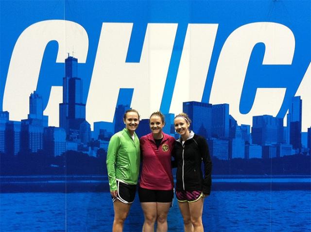 Runner sisters!