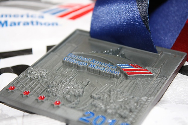 Chicago Marathon 2013 Finisher Medal