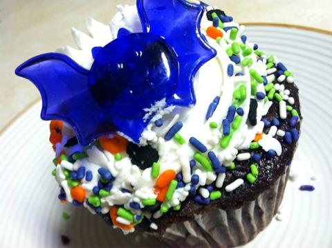 spoooooky cupcake