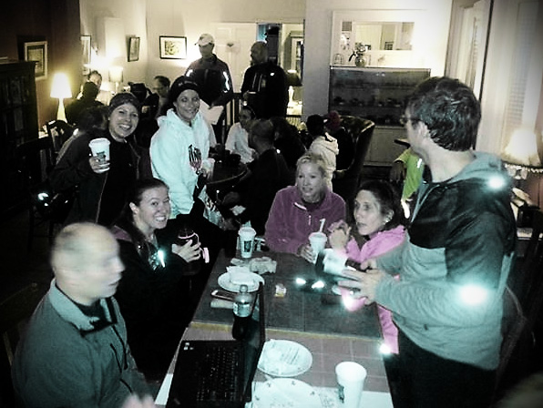 running club @ post-run coffee