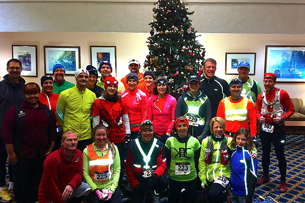 The Frosty 5 Runners, ready to take off!