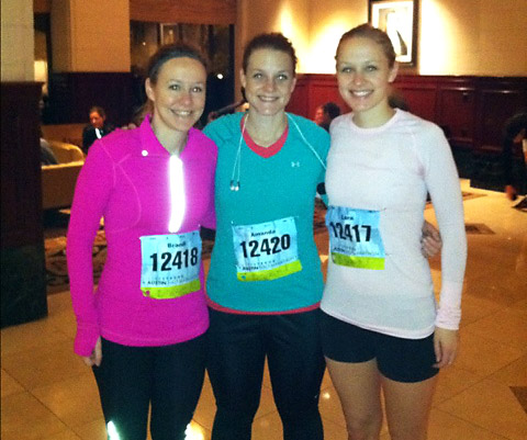 Three sisters take on the Livestrong Austin Half Marathon!