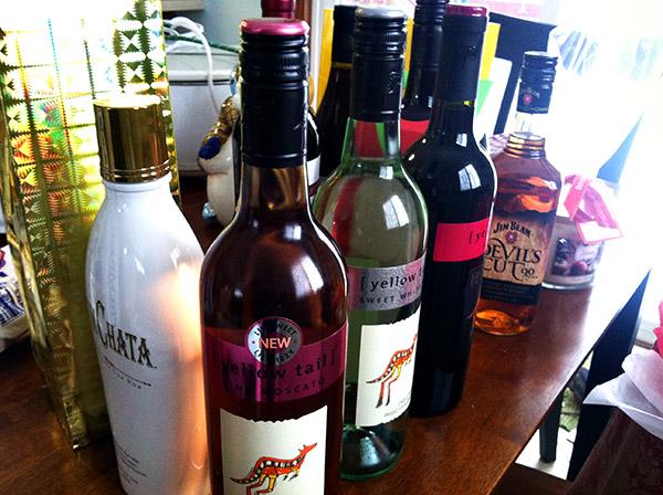Housewarming Booze