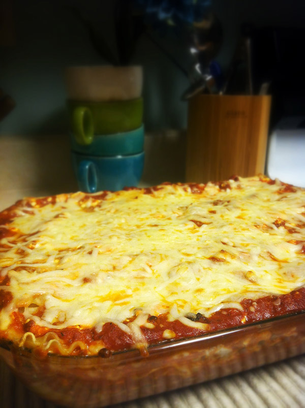 Matt's Homemade Lasagna