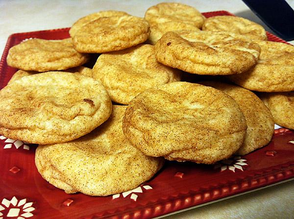 Snickerdoodles Christmas cookies