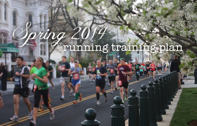 Spring 2014 Training Plan Phoenix Half Marathon and Green Bay Marathon