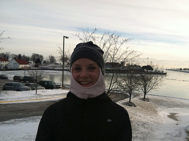 runner icicles outside