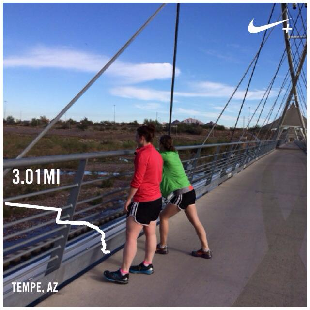 running in tempe, phoenix, arizona.