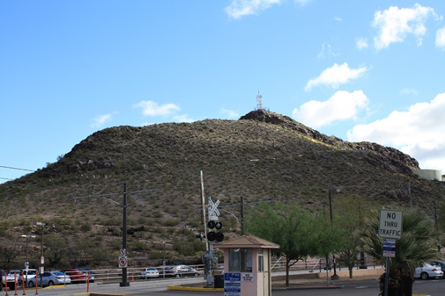 tempe butte, also known as A Mountain