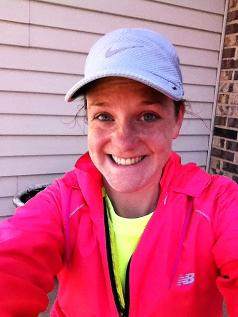 18 mile long run for Green Bay Marathon